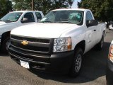 2013 Summit White Chevrolet Silverado 1500 Work Truck Regular Cab 4x4 #70195247
