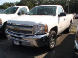 2013 Summit White Chevrolet Silverado 1500 LS Regular Cab #70195241