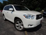 2010 Blizzard White Pearl Toyota Highlander Limited 4WD #70196003