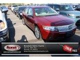 2008 Vivid Red Metallic Lincoln MKZ AWD Sedan #70195220