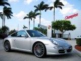 2007 Arctic Silver Metallic Porsche 911 Carrera S Coupe #7014659