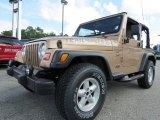2000 Jeep Wrangler Desert Sand Pearl