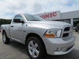 2012 Bright Silver Metallic Dodge Ram 1500 Express Regular Cab #70195564