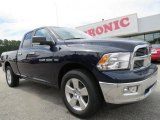2012 True Blue Pearl Dodge Ram 1500 Big Horn Quad Cab #70195562
