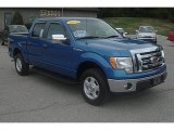 2010 Blue Flame Metallic Ford F150 XLT SuperCrew 4x4 #70195893