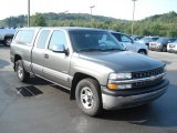 2001 Medium Charcoal Gray Metallic Chevrolet Silverado 1500 LS Extended Cab #70195544