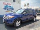 2013 Deep Impact Blue Metallic Ford Explorer FWD #70266016