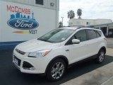 2013 White Platinum Metallic Tri-Coat Ford Escape SEL 1.6L EcoBoost #70266014