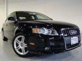 2008 Brilliant Black Audi A4 2.0T quattro Sedan #7015481