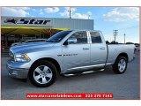 2011 Bright Silver Metallic Dodge Ram 1500 Big Horn Quad Cab #70266110