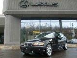 2002 Jet Black BMW 3 Series 330xi Sedan #7024623