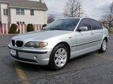2004 Titanium Silver Metallic BMW 3 Series 325i Sedan #7020996