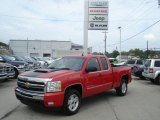 2010 Victory Red Chevrolet Silverado 1500 LT Extended Cab 4x4 #70294330