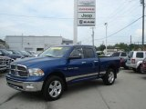 2011 Deep Water Blue Pearl Dodge Ram 1500 Big Horn Quad Cab 4x4 #70294325