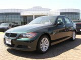 2007 Deep Green Metallic BMW 3 Series 328i Sedan #7024302