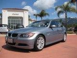 2007 Arctic Metallic BMW 3 Series 328i Sedan #7015898