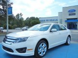 2011 White Platinum Tri-Coat Ford Fusion SE V6 #70310808