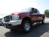 2002 Toreador Red Metallic Ford F250 Super Duty XLT SuperCab 4x4 #70311226