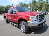 2002 Ford F250 Super Duty Toreador Red Metallic