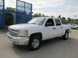 2013 Summit White Chevrolet Silverado 1500 LT Crew Cab 4x4 #70310776
