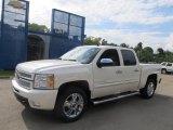 2013 White Diamond Tricoat Chevrolet Silverado 1500 LTZ Crew Cab 4x4 #70310775