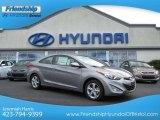 2013 Titanium Gray Metallic Hyundai Elantra Coupe GS #70310761
