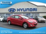 2013 Volcanic Red Hyundai Elantra Coupe GS #70310759