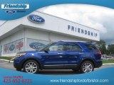 2013 Deep Impact Blue Metallic Ford Explorer XLT 4WD #70310754