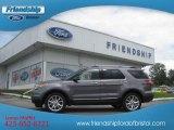 2013 Sterling Gray Metallic Ford Explorer XLT 4WD #70310752