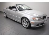 2006 Titanium Silver Metallic BMW 3 Series 330i Convertible #70310982