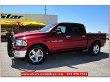 2012 Deep Cherry Red Crystal Pearl Dodge Ram 1500 Lone Star Crew Cab 4x4 #70310967