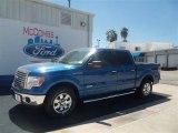 2012 Blue Flame Metallic Ford F150 XLT SuperCrew #70310705