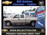 2004 Sandstone Metallic Chevrolet Silverado 1500 Z71 Extended Cab 4x4 #70311154