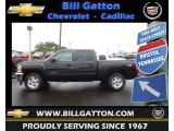 2012 Black Granite Metallic Chevrolet Silverado 1500 LT Crew Cab 4x4 #70311150