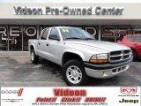 2004 Bright Silver Metallic Dodge Dakota Sport Quad Cab 4x4 #70353090
