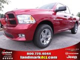 2012 Deep Cherry Red Crystal Pearl Dodge Ram 1500 Express Quad Cab #70352502
