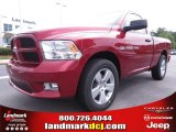 2012 Deep Cherry Red Crystal Pearl Dodge Ram 1500 Express Regular Cab #70352493