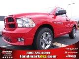 2012 Flame Red Dodge Ram 1500 Express Regular Cab #70352492