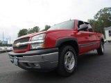 2005 Victory Red Chevrolet Silverado 1500 Z71 Extended Cab 4x4 #70353082