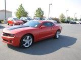 2010 Inferno Orange Metallic Chevrolet Camaro LT/RS Coupe #70352789