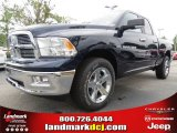 2012 True Blue Pearl Dodge Ram 1500 Big Horn Quad Cab 4x4 #70352483