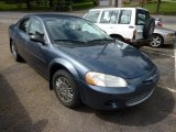 2002 Steel Blue Pearl Chrysler Sebring LX Sedan #70353036