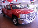 2012 Victory Red Chevrolet Silverado 1500 LT Extended Cab #70352769