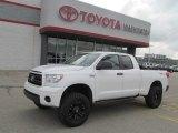 2010 Super White Toyota Tundra TRD Rock Warrior Double Cab 4x4 #70352457
