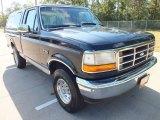 1995 Black Ford F150 XL Regular Cab 4x4 #70353001