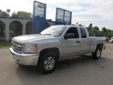 2012 Silver Ice Metallic Chevrolet Silverado 1500 LT Extended Cab 4x4 #70352435