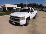 2008 Summit White Chevrolet Silverado 1500 LS Regular Cab #70352715