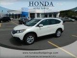 2012 White Diamond Pearl Honda CR-V EX-L #70352664