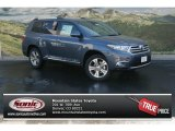 2012 Shoreline Blue Pearl Toyota Highlander Limited 4WD #70352278
