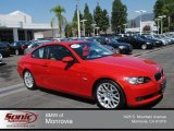 2009 Crimson Red BMW 3 Series 328i Coupe #70352591